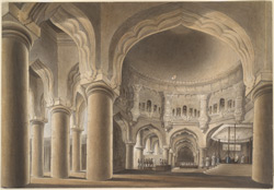 The Svarga Vilasa (Celestial Pavilion) or Throne-room of the palace of Tirumala Nayak (1623-59) at Madurai